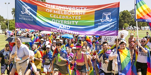 UniMelb at the 2020 Midsumma Pride March