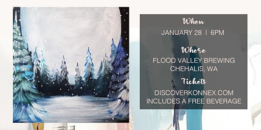 SOLD OUT! Painting Class at Flood Valley Taphouse