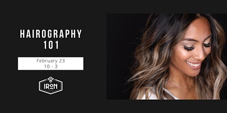 HAIROGRAPHY 101 tickets