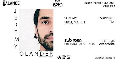 Eden Pres. Jeremy Olander | Vivrant World Tour tickets