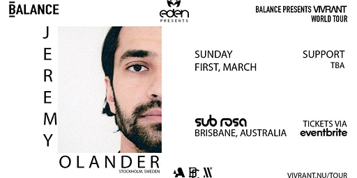 Eden Pres. Jeremy Olander | Vivrant World Tour