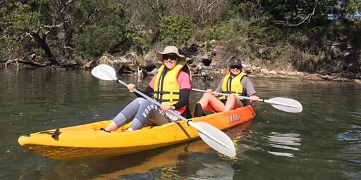 Women's Kayaking Day: Port Hacking // Sunday 16th February