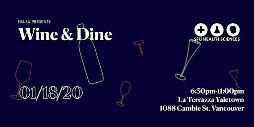 HSUSU'S Presents: Wine & Dine 2020