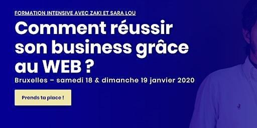 Réussis ton business grâce au WEB