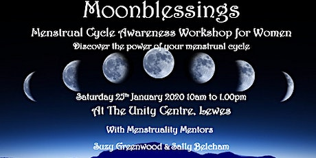 'Moonblessings'; Menstrual Cycle Awareness Workshop for women tickets