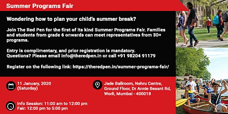 Summer Programs Fair tickets