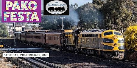 Pako Festa Geelong Heritage Train tickets