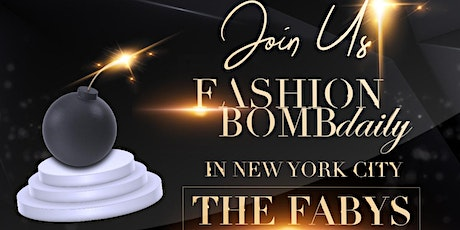 The FABY's 2020, Fashion Bomb Daily's End of the Year Awards tickets