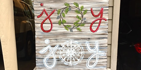 Sip and Paint Night - Joyful Holiday Signs @ Beerocracy tickets