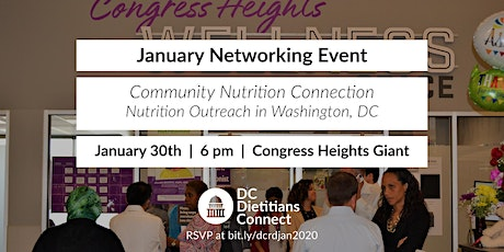 DC Dietitians Connect: January 2020 Networking Event tickets