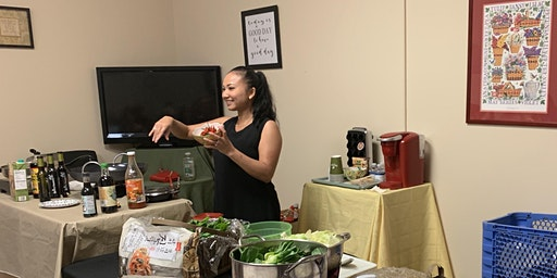 STIR FRY ASIAN COOKING DEMO WITH CHEF CHANTHY