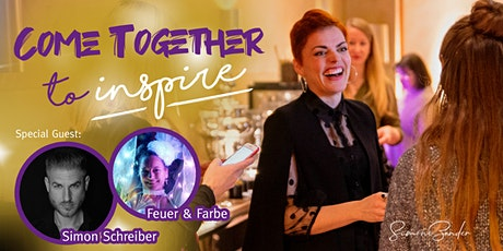 COME TOGETHER TO INSPIRE. Networking, Impulse, Inspiration Tickets