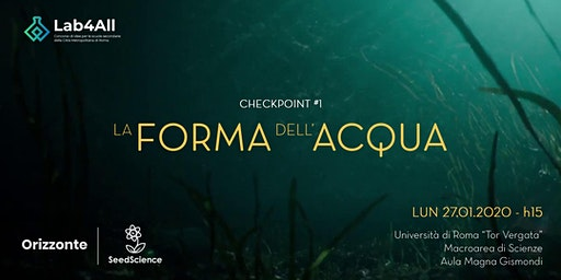 Lab4All | Checkpoint #1 - La forma dell'acqua