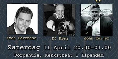 Swinging Saturday met Yves Berendse, DJ Rieg, en John Keijer
