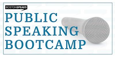 SPEAK - Public Speaking Bootcamp