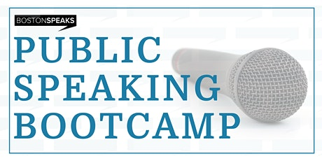 SPEAK - Public Speaking Bootcamp tickets