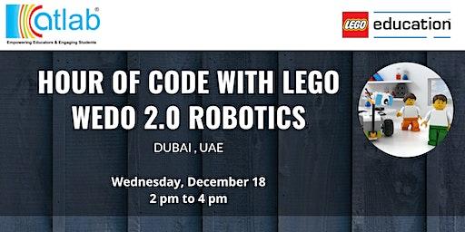 HOUR OF CODE WITH LEGO WEDO 2.0 ROBOTICS
