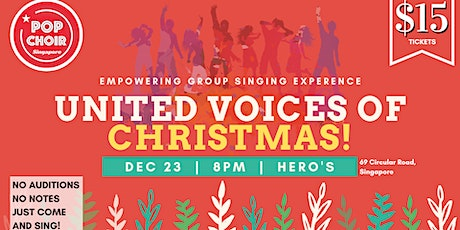 United Voices of Christmas tickets