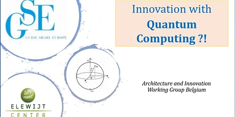 Innovation with Quantum Computing ?! tickets