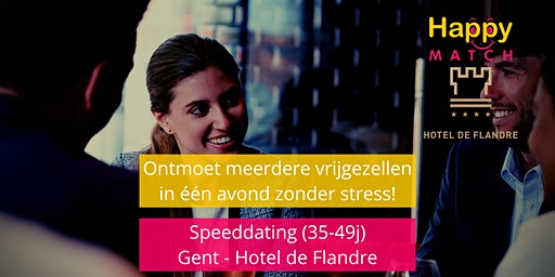 Speeddating Gent, 35-49j