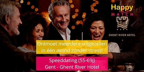 Speeddating Gent, 55-69j tickets