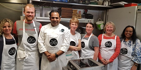 Cookery Experiene with Chef Anand George 29th March 2020 tickets
