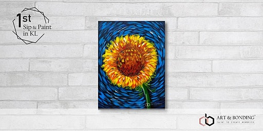 Sip & Paint Night : Sunflower by Van Gogh