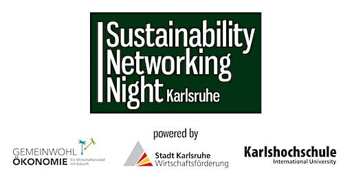 Sustainability Networking Night Karlsruhe