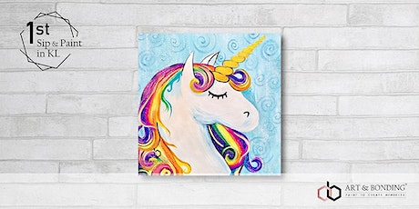 Sunday Sip & Paint : Brilliant Unicorn tickets