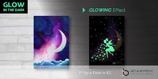 Glow Sip & Paint : Glow - Fairy's Love Sparkling