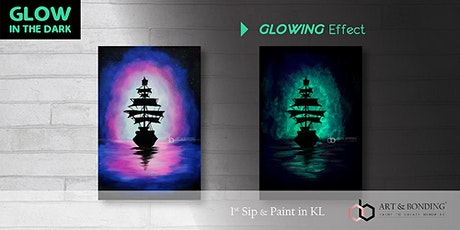 Glow Sip & Paint : Glow - Night Sailing tickets