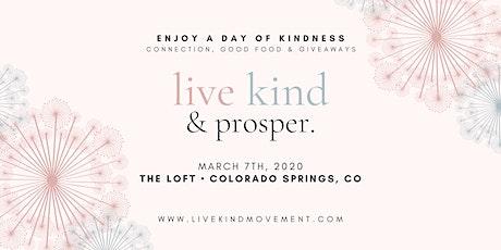 Live Kind + Prosper Colorado tickets