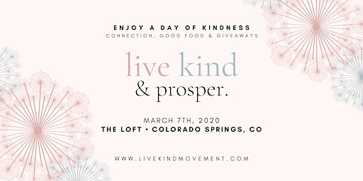 Live Kind + Prosper Colorado