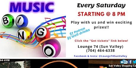 Music Bingo @ Lounge 74 tickets