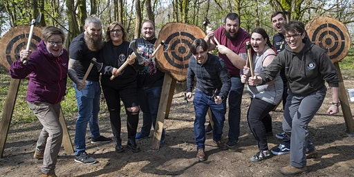Axe throwing Valentine's event 15 February 2020, 10.30 - 12pm, Bridgend