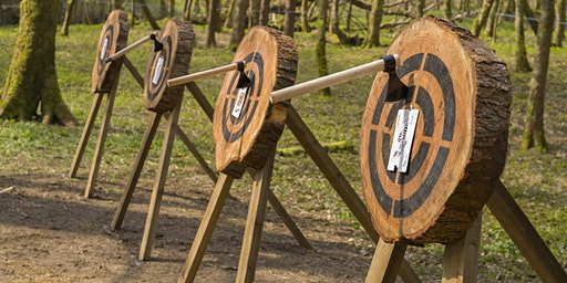 Axe throwing event 23 February 2020, 10.30 - 12pm, Bridgend