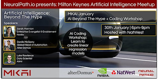 MKAI January | Artificial Intelligence Meetup | AI Beyond the Hype