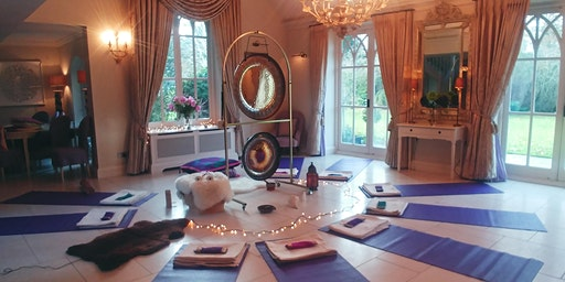 Special Gong Bath at Foxlea Manor