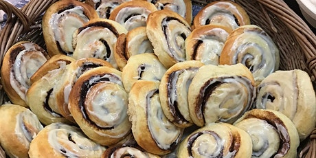 May Fabulous Enriched Doughs/Breads - Bake Brioche, Cinnamon Buns, Focaccia tickets