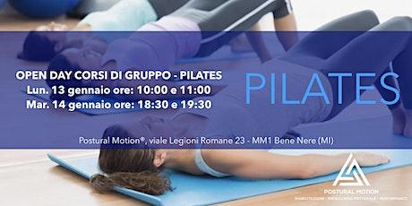 Open Day corsi di gruppo: Pilates biglietti