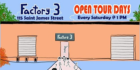 Factory 3 Open House Tour tickets