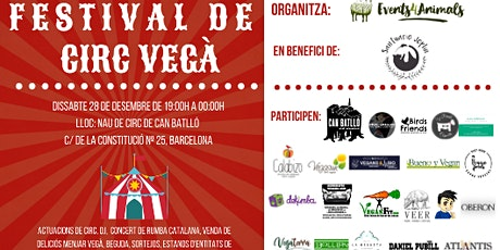 Festival de Circ Vegà en benefici de Santuari Joplin entradas