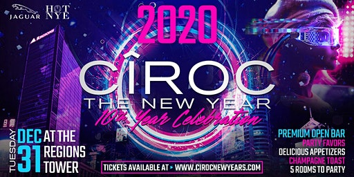 CÎROC New Year 2020 - 10th Year Celebration