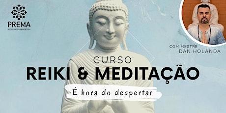 Curso Reiki Nível 1 & Meditação - Iniciantes ingressos