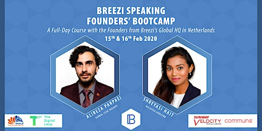 Public Speaking Full-Day Workshop - Founders' Bootcamp - Breezi Speaking