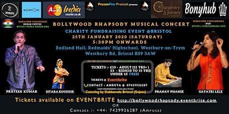 Bollywood Rhapsody concert @ Bristol tickets