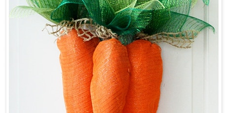 Spring Carrot Wreath Workshop tickets