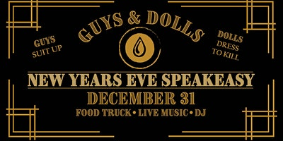 New Years Eve Speakeasy at Dry County