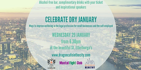 Celebrate Dry January - wellbeing in the legal profession tickets