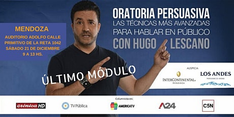 Oratoria Persuasiva con Hugo Lescano   ÚLTIMO MÓDULO entradas